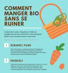 Comment manger bio sans se ruiner