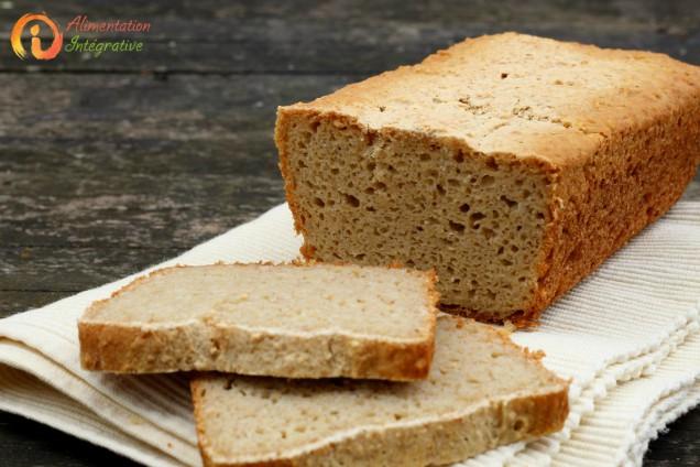 pain sans gluten au levain