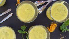Gaspacho de courgette - Alimentation Intégrative