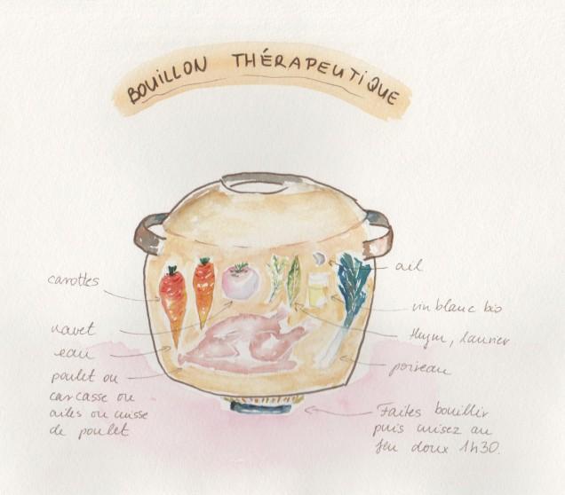 bouillon thérapeutique