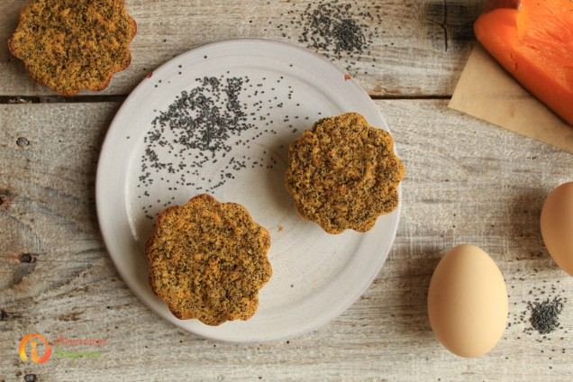 muffin pavot paléo