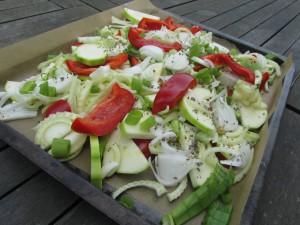 legume au four