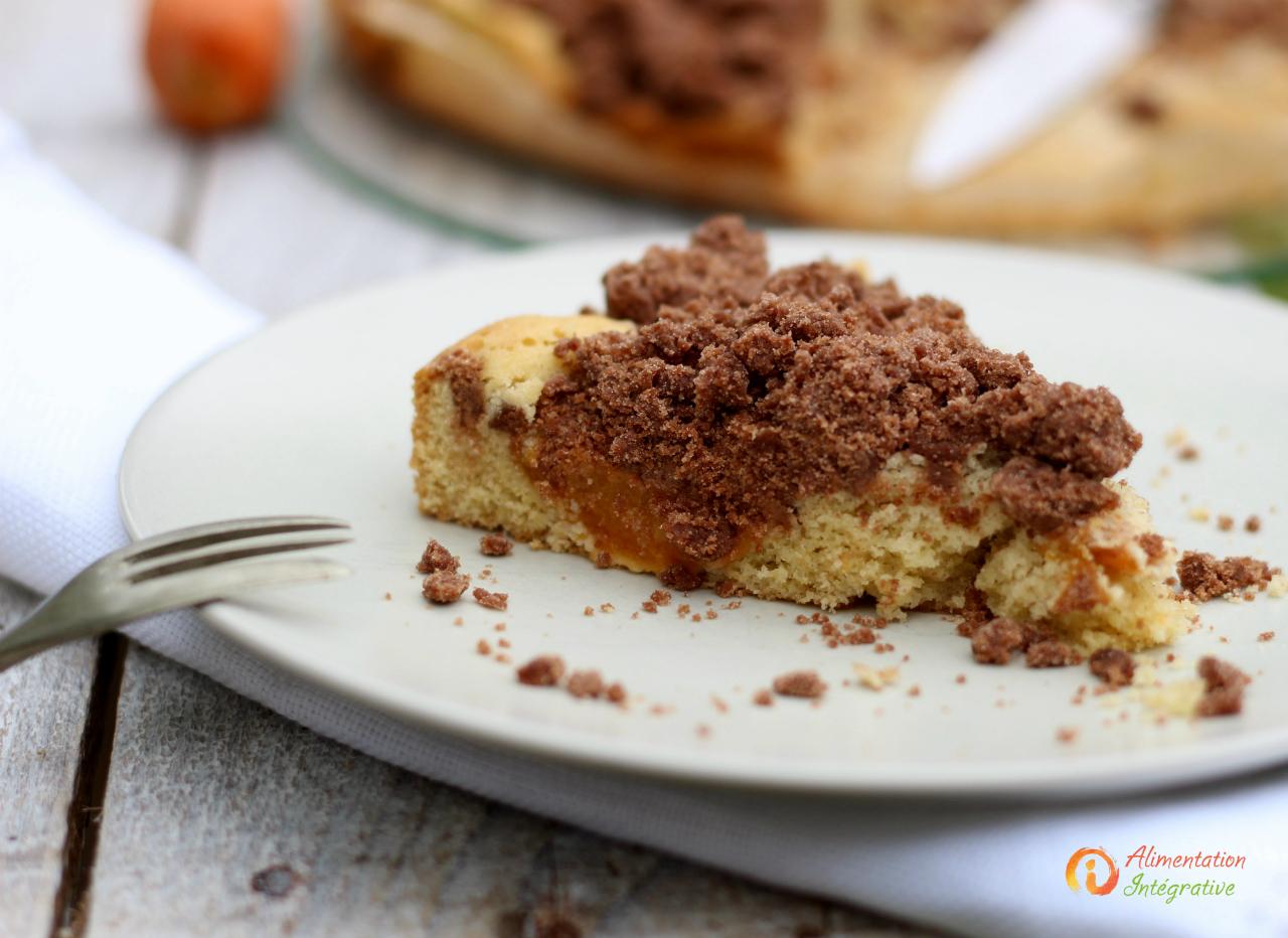 gateau abricot sans gluten
