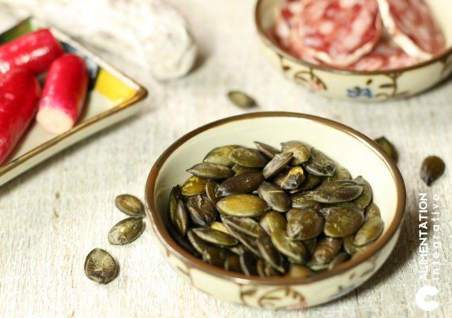 graines de courge grillées en apéro