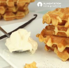Gaufre low carb cétogénique simple
