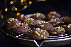 Cookies à la patate douce, à la mélasse et aux pistaches (sans gluten)