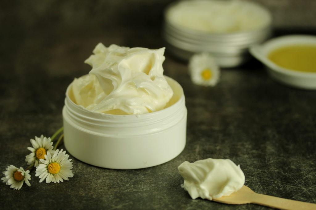 Crème hydratante pour peau sèche