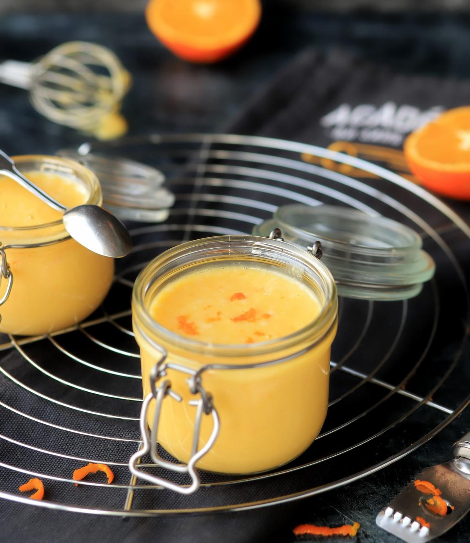 Orange curd - crème à l'orange