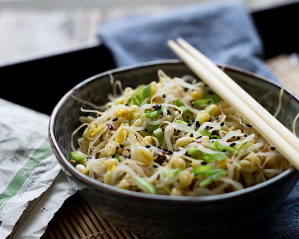 Salade Coréenne au pousses de soja